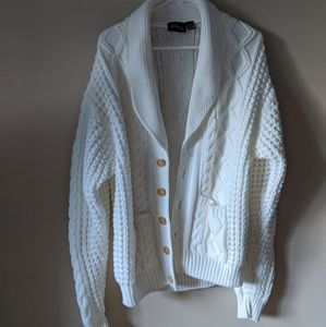 🎃 J.B. Buck white cardigan sweater